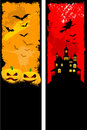 Grunge Halloween backgrounds Royalty Free Stock Image