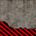 Grunge hazard background Royalty Free Stock Photography