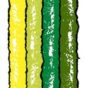 Grunge ink splat background in green and yellow. Royalty Free Stock Photo