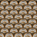 Grunge metal circles background texture or with gray and brown Stock Photo