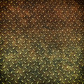 Grunge metal diamond plate background Royalty Free Stock Photo