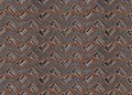 Grunge metal diamond plate seamless texture big Royalty Free Stock Image
