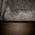 Grunge metal interior Royalty Free Stock Photo