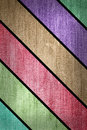 Grunge multicolored stripes jean Royalty Free Stock Photos