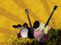 Grunge Music Festival 1 Royalty Free Stock Photo