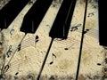 Grunge muzyka Obrazy Stock