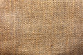 Grunge natural linen texture background. Old rustik canvas close Royalty Free Stock Photo