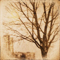 Grunge nature background vintage paper texture Royalty Free Stock Photo
