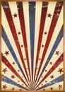 Grunge old flag Royalty Free Stock Image