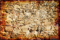 Grunge old wall Royalty Free Stock Image