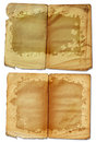 Grunge open book pages Royalty Free Stock Photo