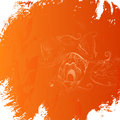 Grunge orange background this is file of eps format Royalty Free Stock Images
