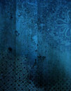 Grunge Ornamental Background Stock Photo