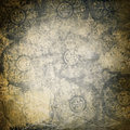 Grunge ornamented background Stock Photography