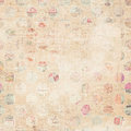 Grunge paper collage background Royalty Free Stock Photo
