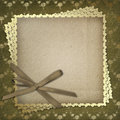 Grunge paper for the invitation Royalty Free Stock Photo