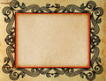 Grunge paper texture vintage frame background Royalty Free Stock Photography