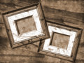 Grunge picture frame Stock Photos