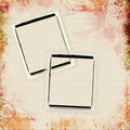 Grunge Picture Frames Royalty Free Stock Image