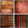 Grunge red and blue stripes Royalty Free Stock Photos