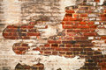 Grunge red brick wall texture Royalty Free Stock Images