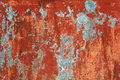 Grunge red brown old painted wall background Royalty Free Stock Photo
