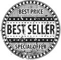 Best Seller Rubber Stamp grunge Royalty Free Stock Photo