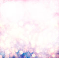 Grunge Silver, Gold, Pink Christmas Light Bokeh Royalty Free Stock Photo