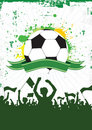 Grunge Soccer Background 1