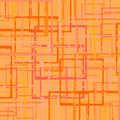 Grunge squares wallpaper in warm colors Royalty Free Stock Photography