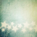 Grunge stars background vintage design Stock Photography