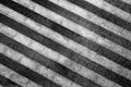 Grunge Striped Black And White...