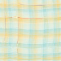Grunge striped and checkered watercolor seamless pattern in blue Royalty Free Stock Photo