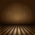 Grunge striped interior Royalty Free Stock Image