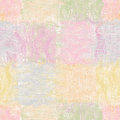 Grunge striped wavy quilt seamless pattern in pastel colors Stock Images