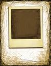 Grunge Style Polaroid Royalty Free Stock Photo