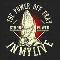 Grunge style vintage the power off pray,hand drawing vector