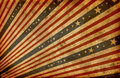Grunge stylized american flag Royalty Free Stock Images
