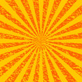 Grunge Sunburst [1] Royalty Free Stock Image