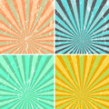 Grunge sunburst background Royalty Free Stock Photo