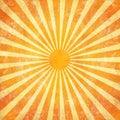 Grunge sunrays background Stock Photos