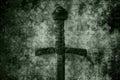 Grunge Sword Background