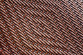 Grunge synthetic rattan weave texture for background Stock Image