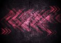 Grunge tech background with arrows Royalty Free Stock Photo