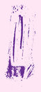 Grunge texture. Purple brush on pink. Vector template. Urban Background. Royalty Free Stock Photo