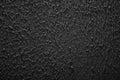 Grunge texture, rough ragged dark background, black plaster stuc