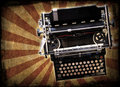 Grunge typewriter Stock Images