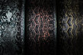 Grunge tyre background deteriorate under the light Stock Photo