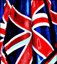 Grunge uk flag Stock Image