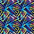 Grunge urban seamless geometric pattern,design in graffity urban
